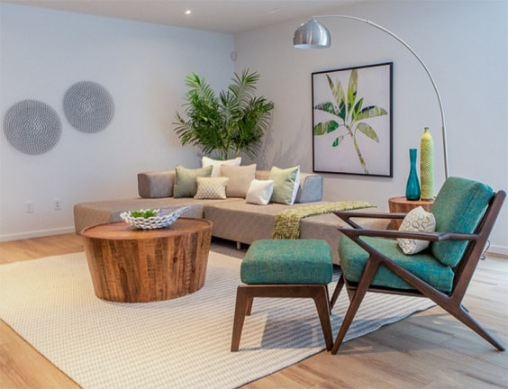 Mid Century Modern Living Room 21-min