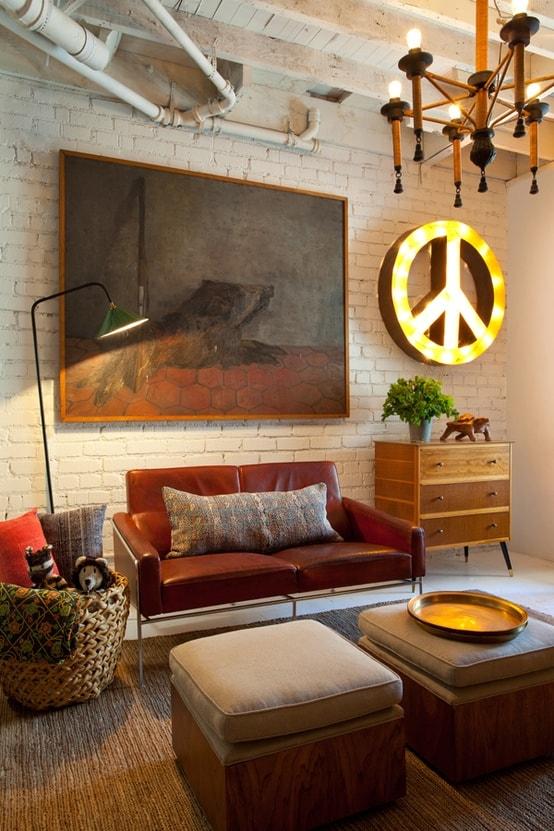 Mid Century Modern Living Room 28-min