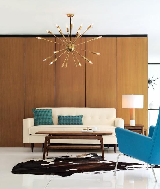 Mid Century Modern Living Room 4-min