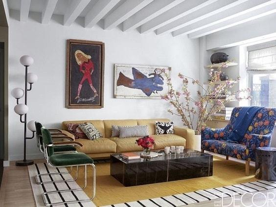 Mid Century Modern Living Room 6-min