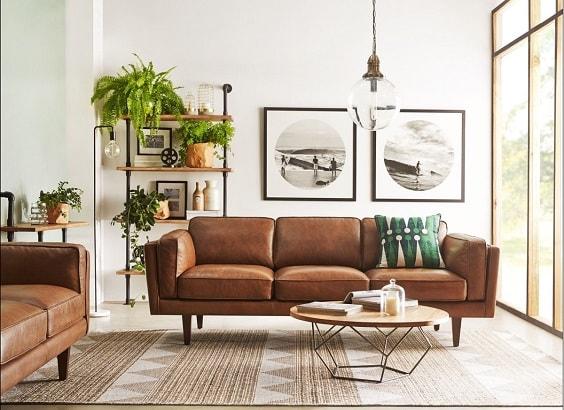 Mid Century Modern Living Room 7-min