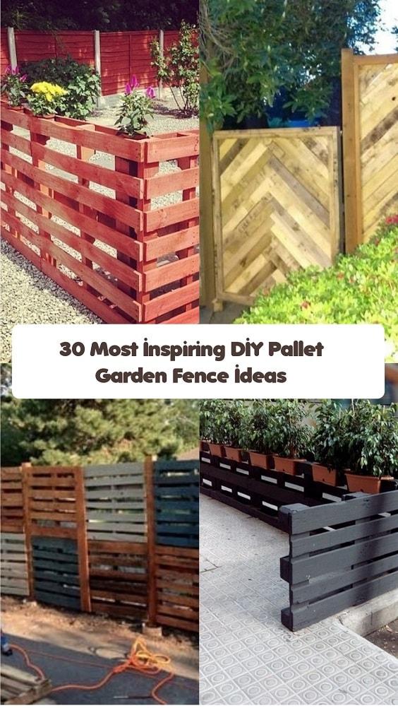 Pallet Garden Fence-min