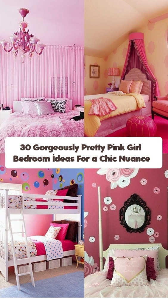 Pink Girl Bedroom-min