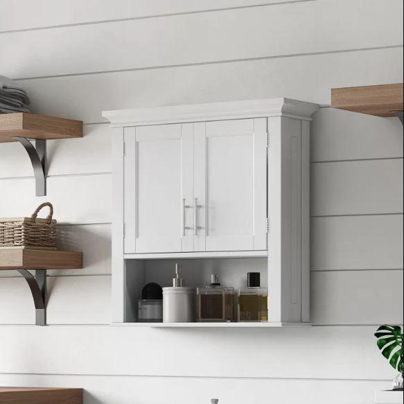 Small White Cabinet for Bathroom 12-min