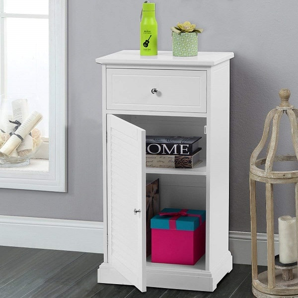 Small White Cabinet for Bathroom 13-min