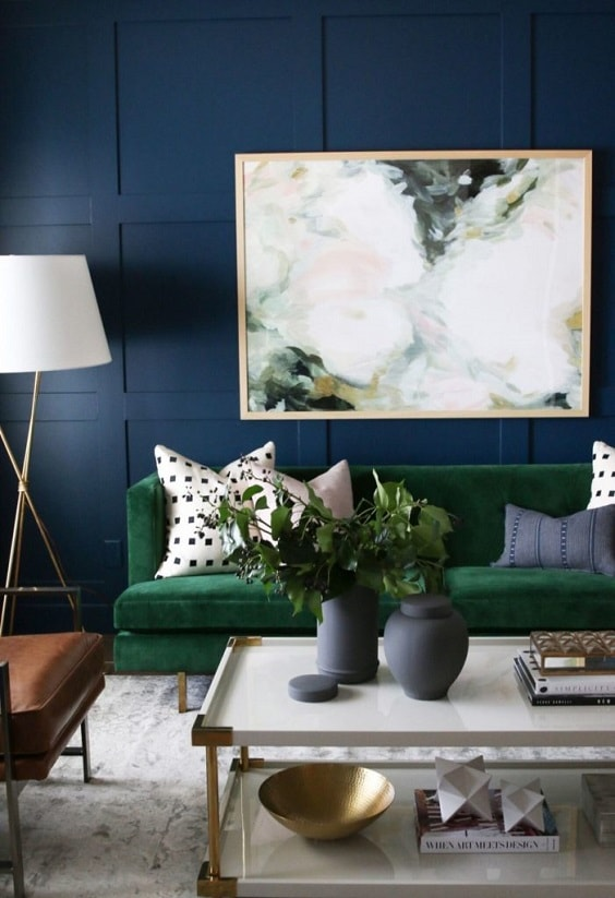 . 30  Incredibly Stylish Blue Living Room Inspirations for Soothing Decor