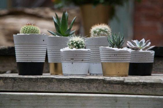 diy concrete planter 4-min