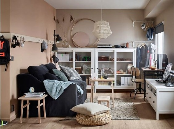 ikea living room 23-min