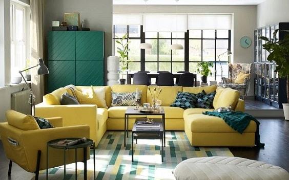 ikea living room 24-min
