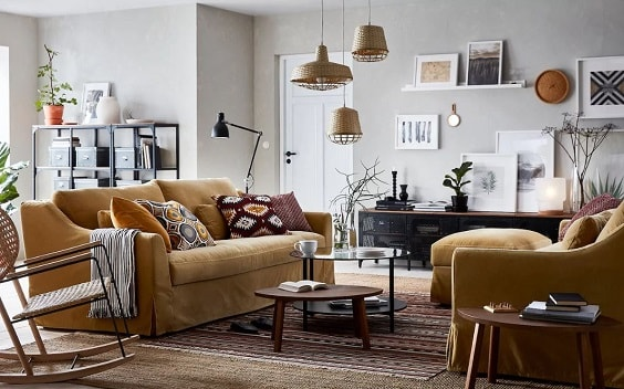 ikea living room 3-min