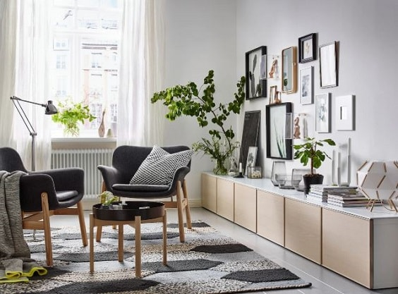 Ikea Living Room >> 30 Most Beautiful Ikea Living Room Ideas Of 2018 To Copy