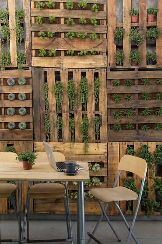 pallet garden fence 19-min