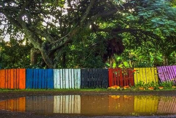pallet garden fence 22-min