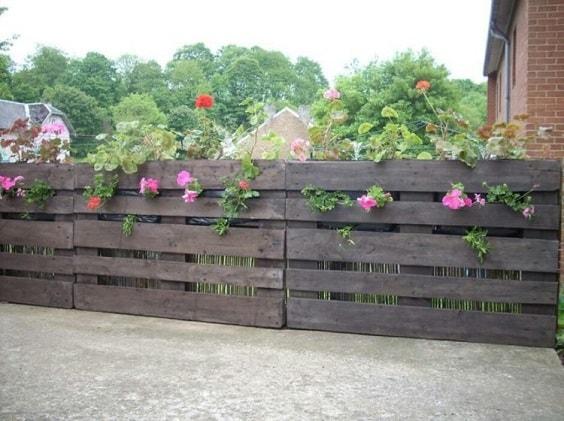 pallet garden fence 26-min