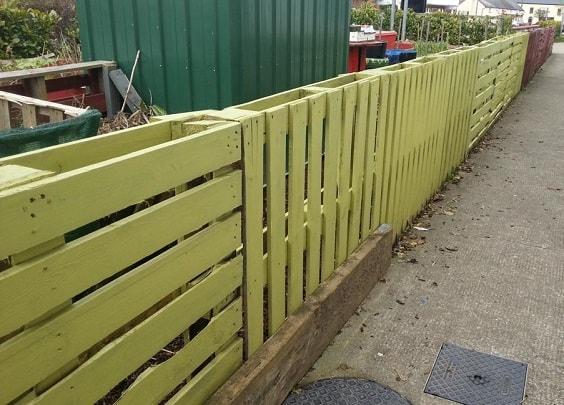 pallet garden fence 29-min