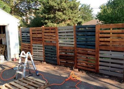 pallet garden fence 30-min