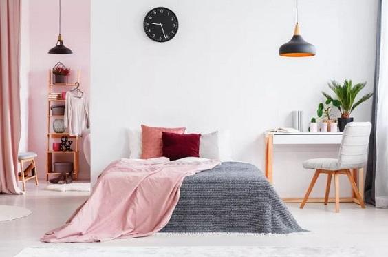 pink girl bedroom 15