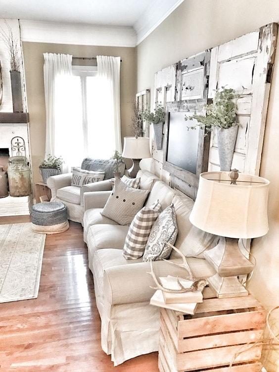 rustic living room 30-min