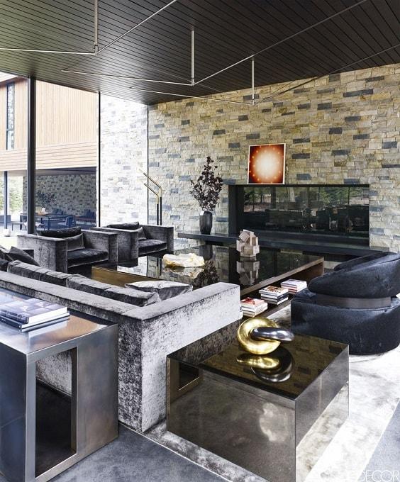 Mid Century Modern Living Room 22-min