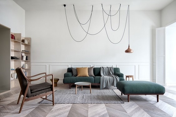 Mid Century Modern Living Room 25-min