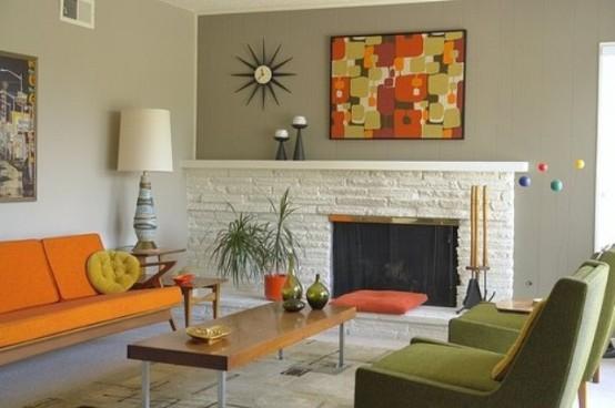 Mid Century Modern Living Room 26-min