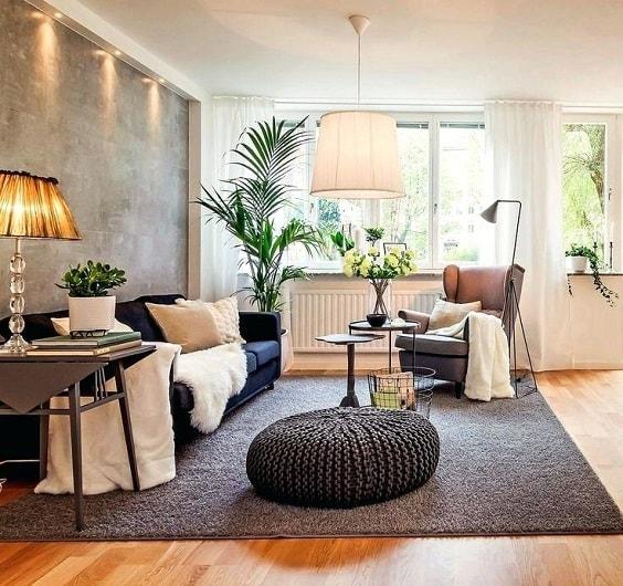 Mid Century Modern Living Room 29-min