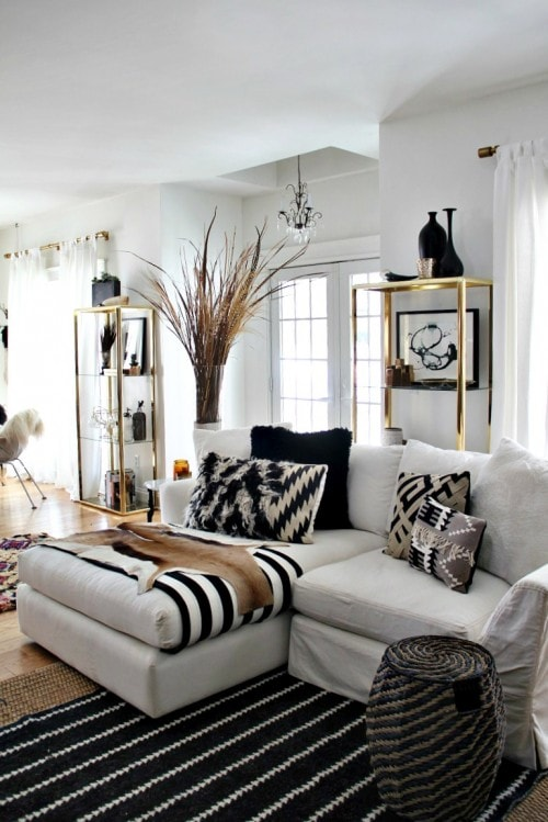 black and white living room 14-min