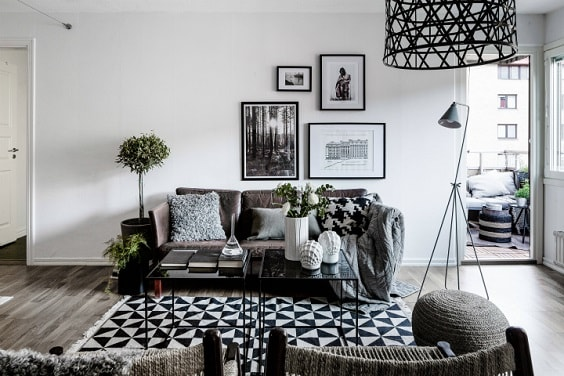 black and white living room 17-min