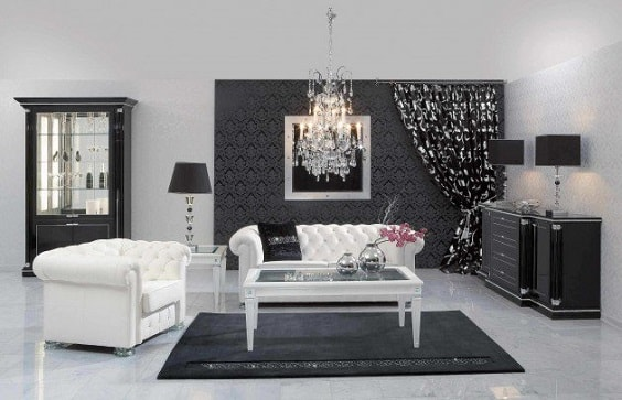 black and white living room 20-min