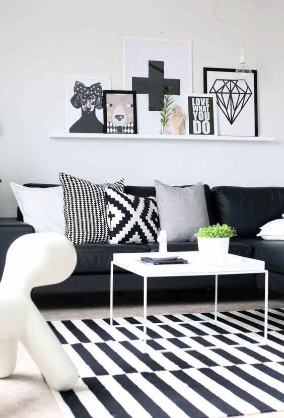 black and white living room 24-min