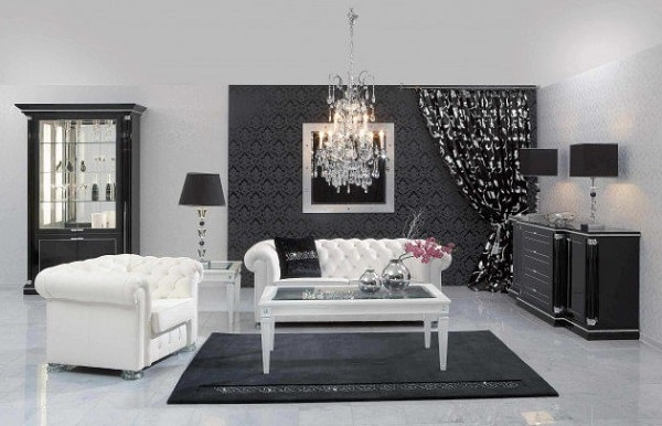 black and white living room feature-min