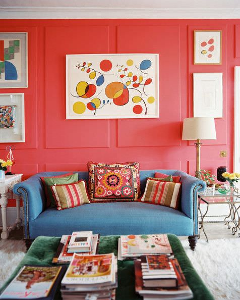 eclectic living room 2-min