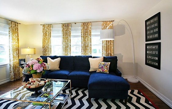 eclectic living room 24-min