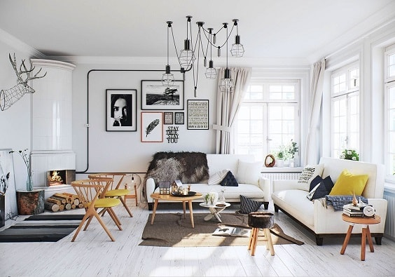 eclectic living room 25-min