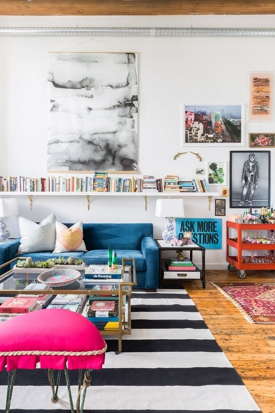 eclectic living room 30-min
