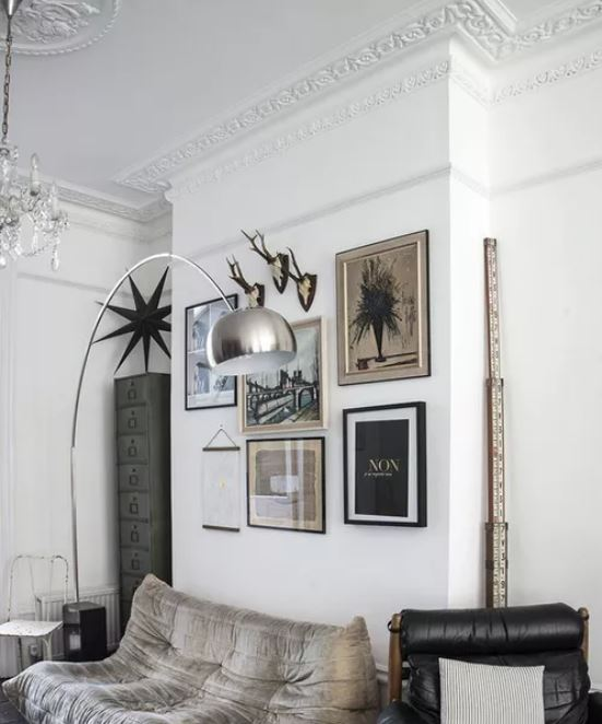 eclectic living room 32