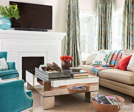 eclectic living room 6-min