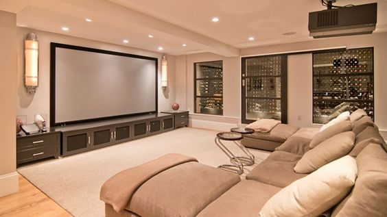 25+ Awesomely Mesmerizing Living Room Theater Ideas to Steal