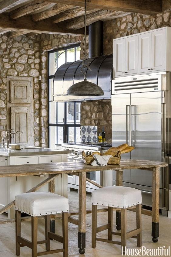 rustic kitchen 3-min