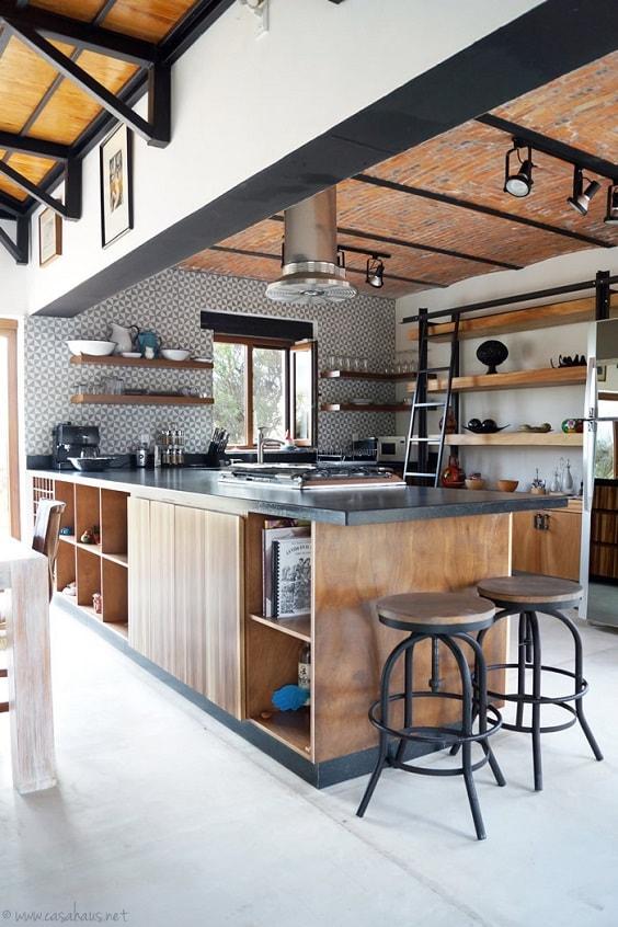 rustic kitchen 7-min