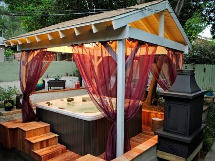 Hot Tub Backyard Ideas 17