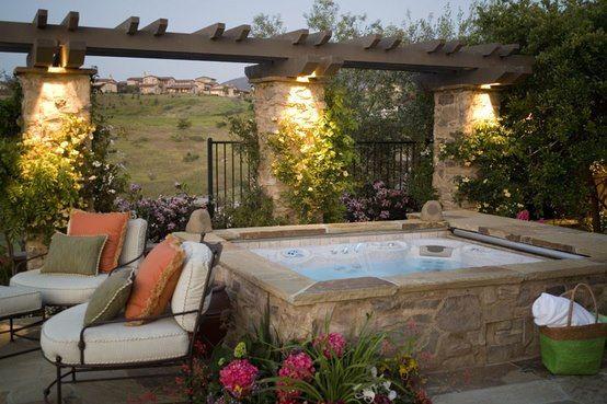 Hot Tub Backyard Ideas 19