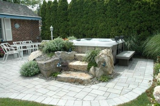 Hot Tub Backyard Ideas 2