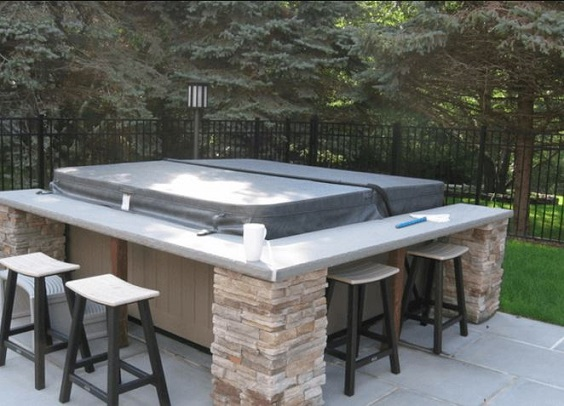 Hot Tub Backyard Ideas 3