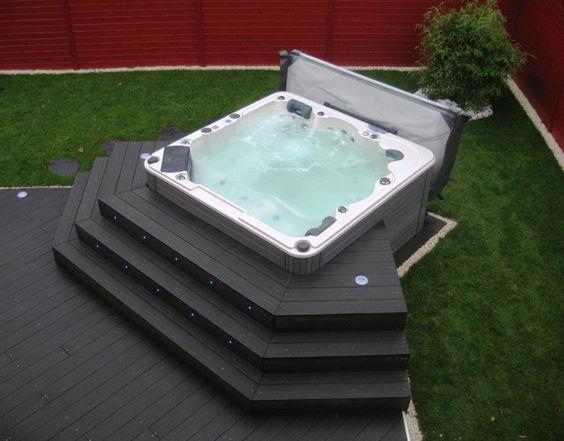 Hot Tub Backyard Ideas 5