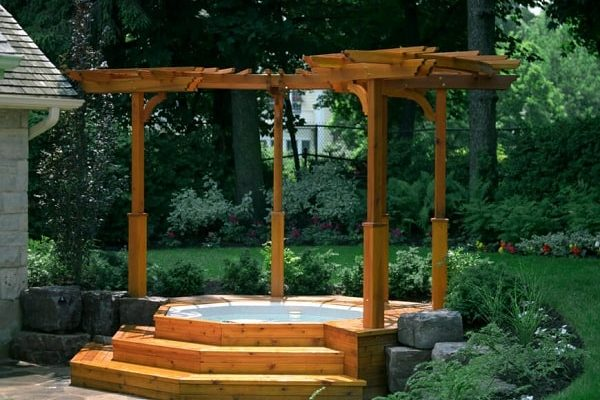 Hot Tub Backyard Ideas feature-min