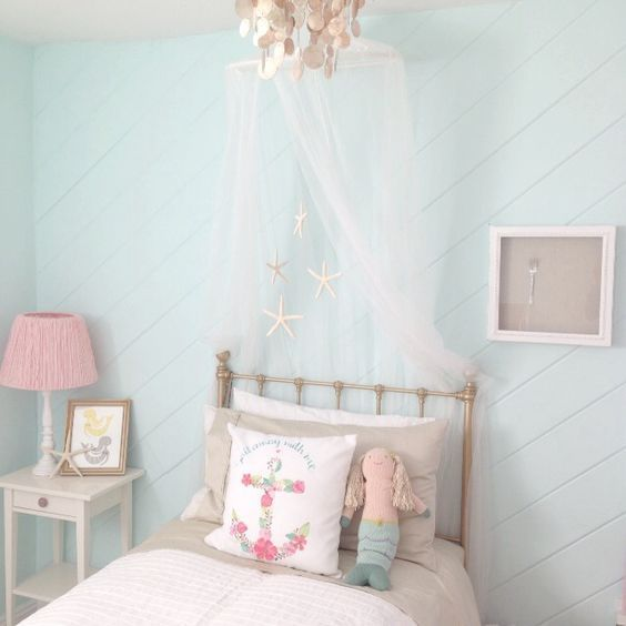 30+ Prettiest Mermaid Bedroom Ideas For Girls Which Are