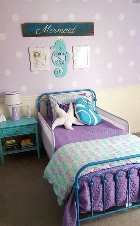 Mermaid Bedroom Ideas for Girls 11-min