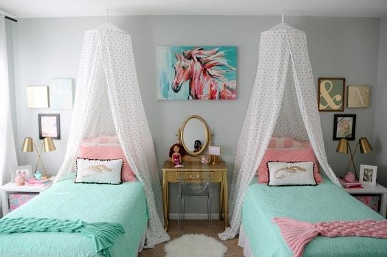 Mermaid Bedroom Ideas for Girls 13-min