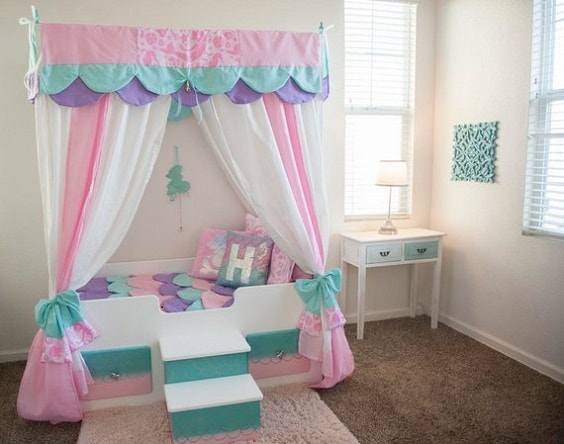 Mermaid Bedroom Ideas for Girls 14-min